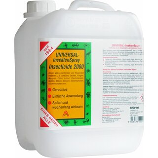 Insecticide 2000, 5 Liter